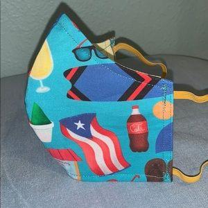 Accessories - Puerto Rico Vamos Pa' La Playa mask